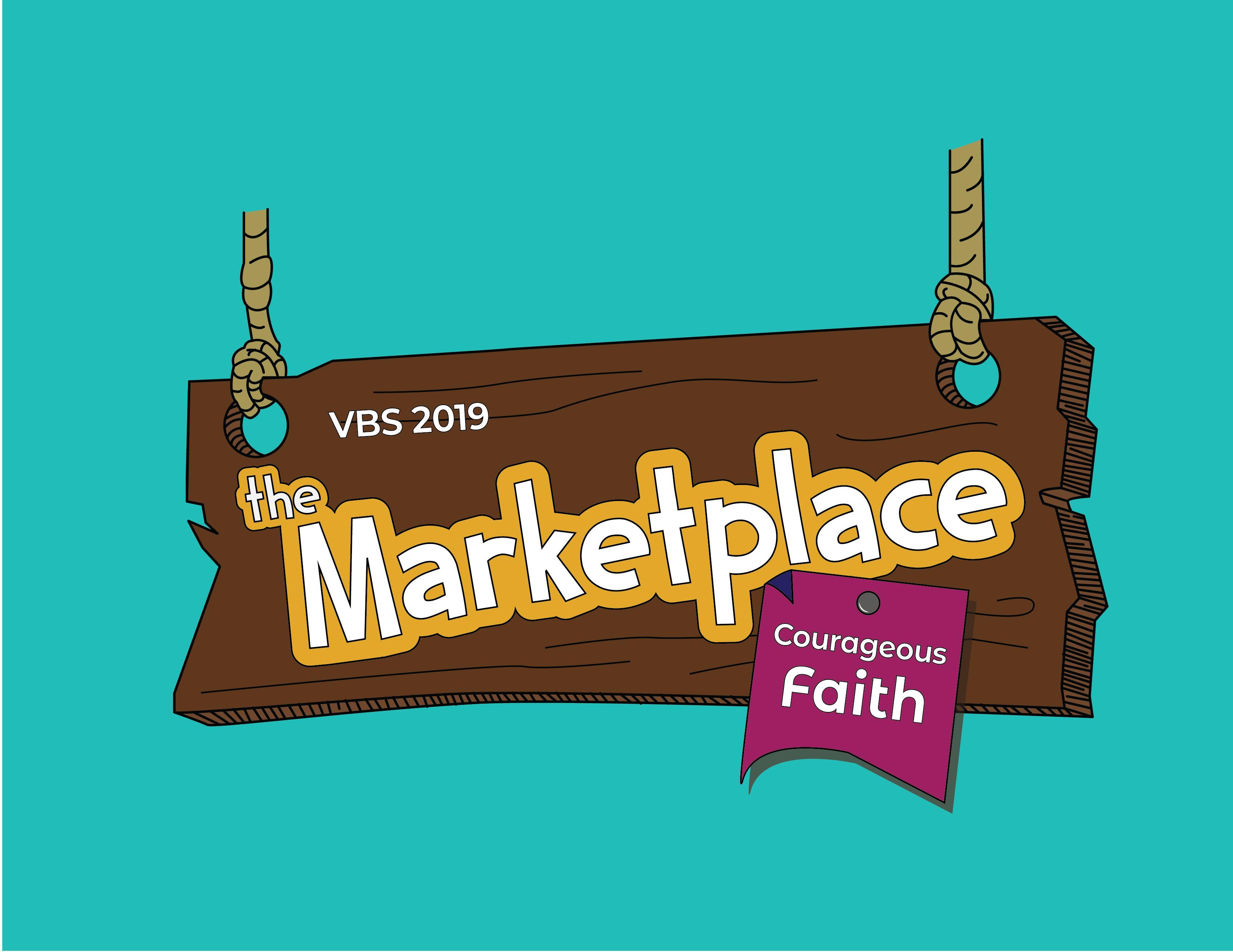Vbs The Marketplace Courageous Faith Church Of The Open Door