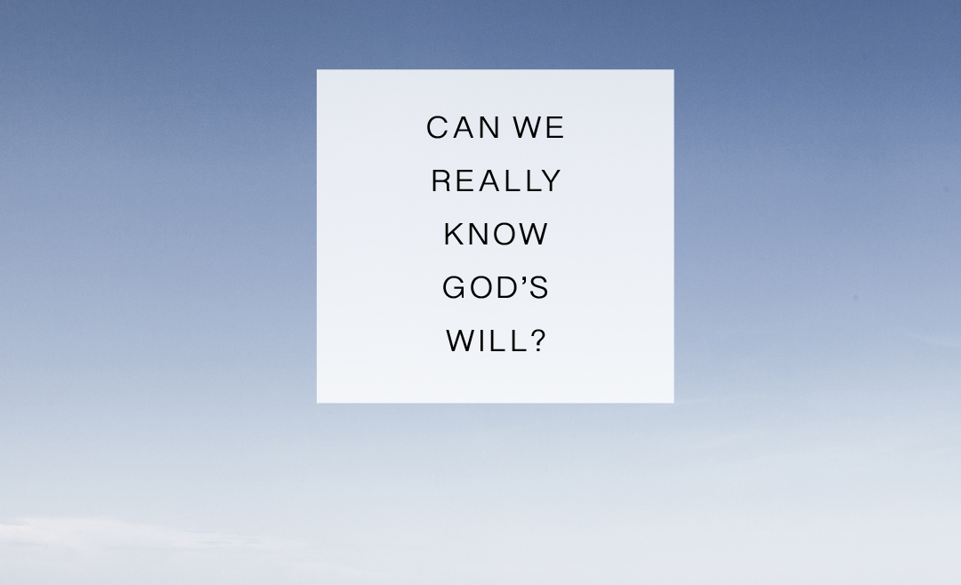 About God's Will