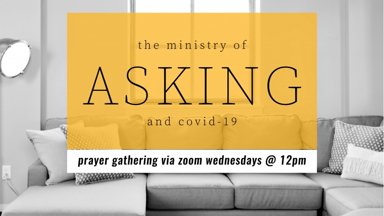 The Ministry of Asking